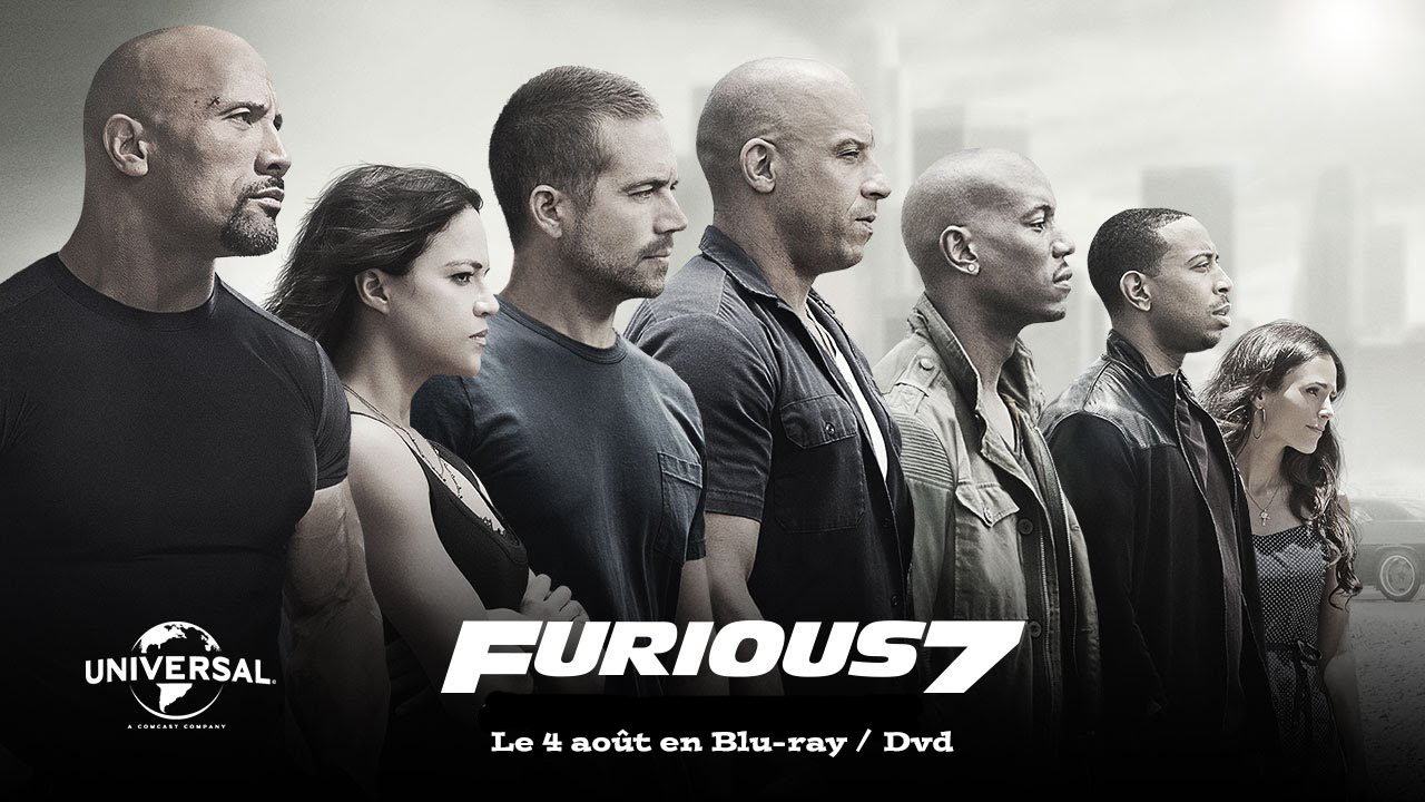 sortie blu ray dvd fast and furious 7. Black Bedroom Furniture Sets. Home Design Ideas