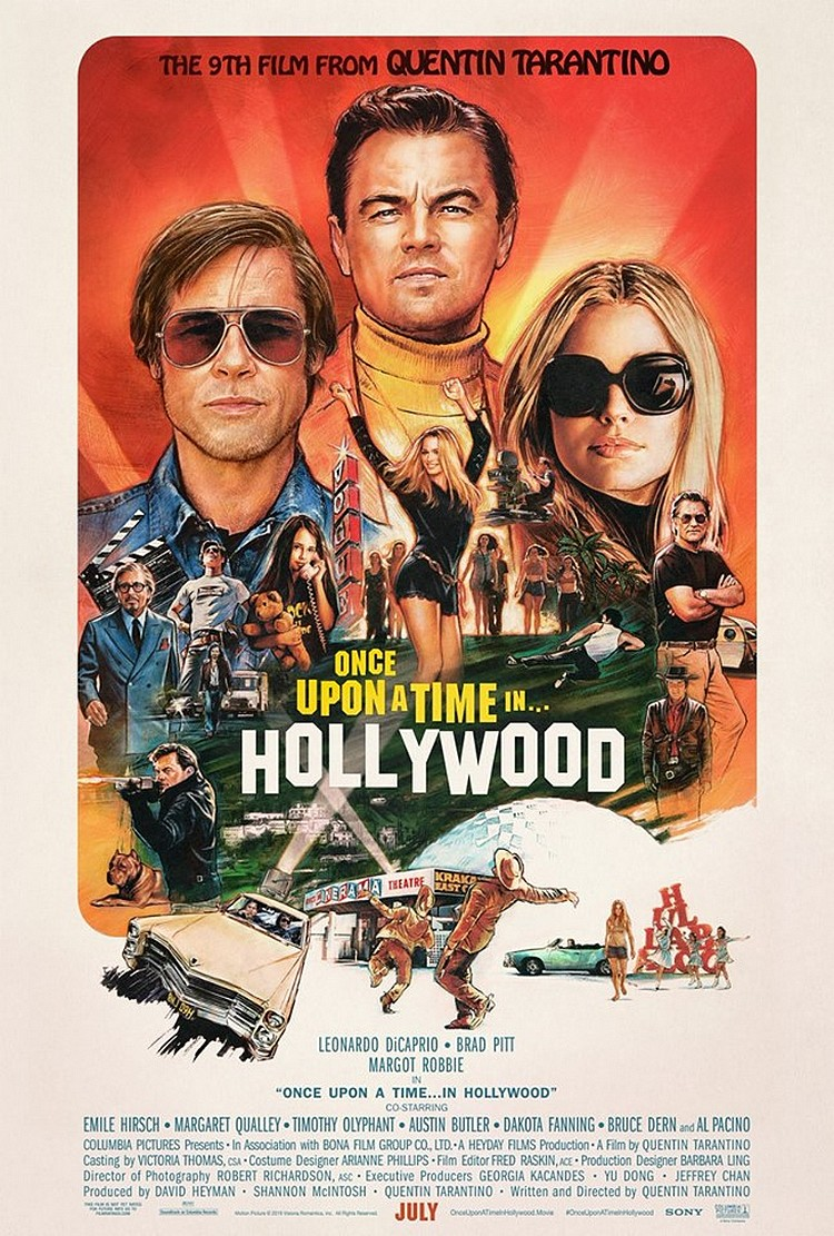 affiche-once-upon-a-time-in-hollywood