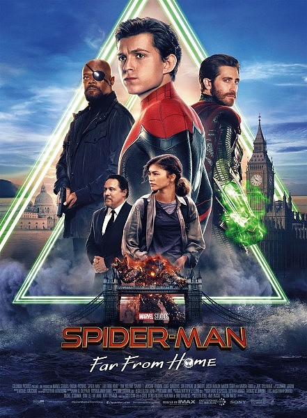 affiche-spiderman-far-from-home